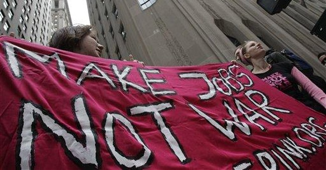 7 protesters arrested at Wall St. demonstration