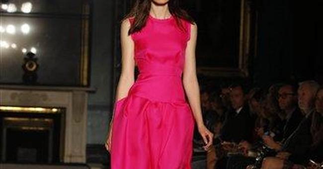 Bright colors mark London Fashion Week last days