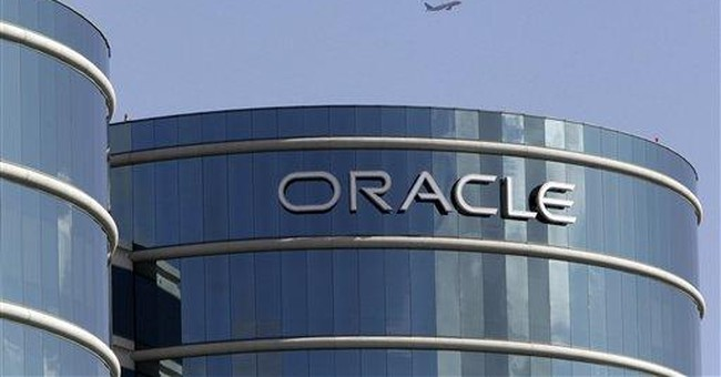 Oracle's net rises 36 percent, but servers slip