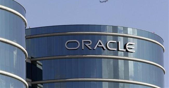 Oracle's net rises 36 percent, but servers slip