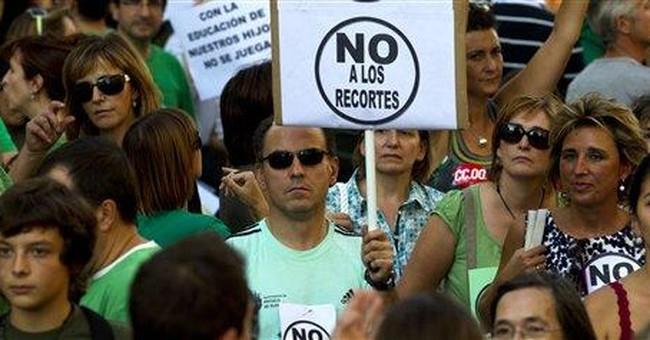Spanish schools hit by strike over staffing cuts