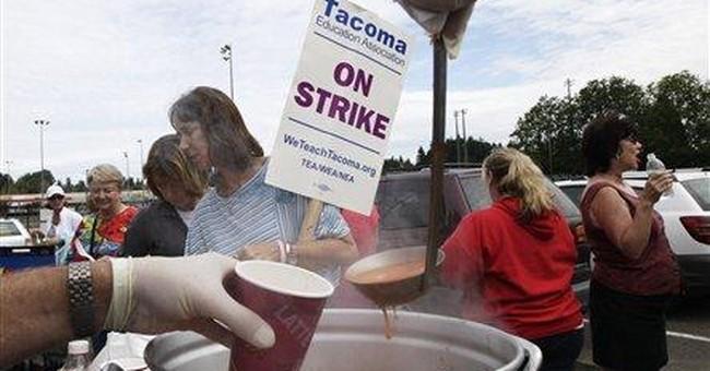 Washington teachers to vote on contract, strike