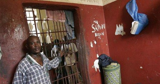Rights group: Liberia prisons crowded, inhumane