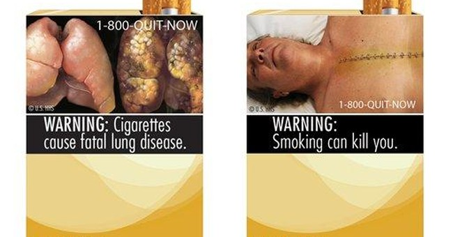 Judge questions images for cigarette packages