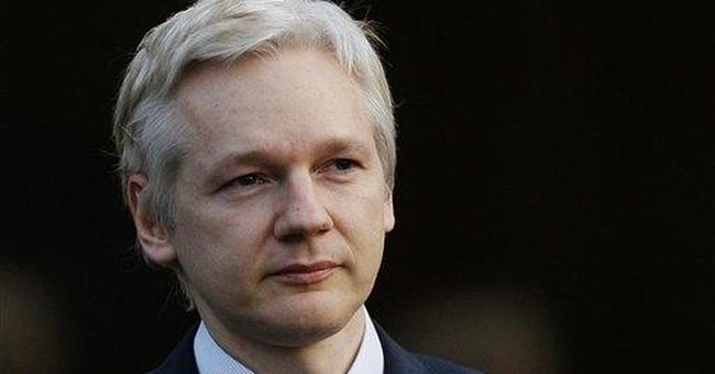 APNewsBreak: WikiLeaks chief condemns memoir