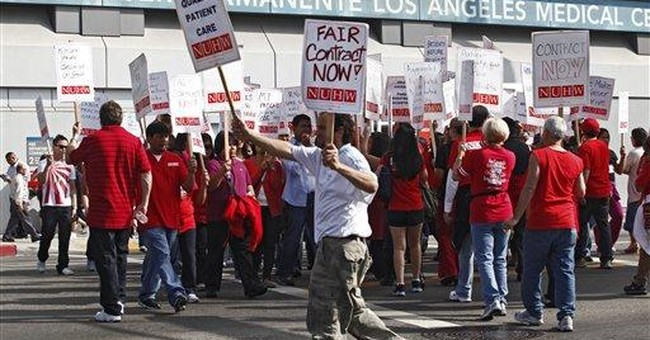 Nurses at dozens of Calif. hospitals strike