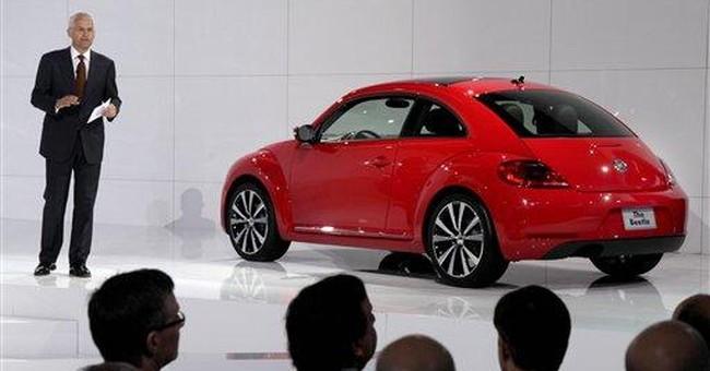 Volkswagen Beetle looking for men