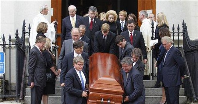 Funeral Mass held for Ted Kennedy's daughter