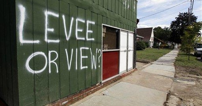 After flood, Pa. town laments lack of levee