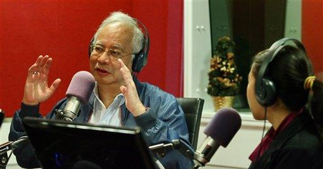 Malaysian leader plays it cool to charm the young