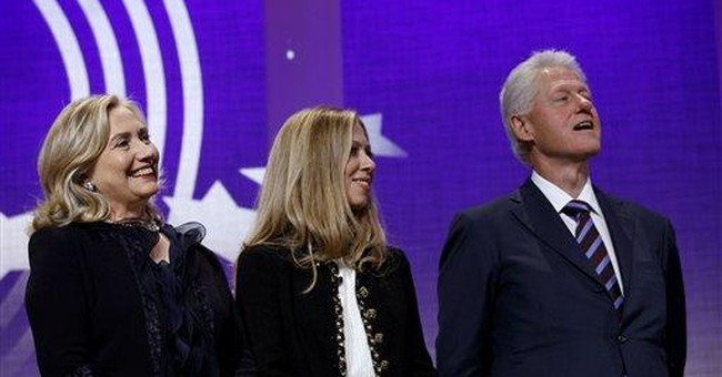 Family reunion as Clinton Global Initiative closes