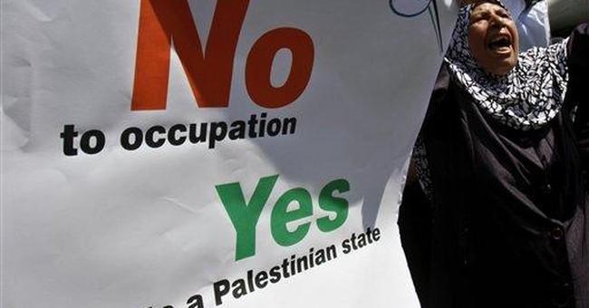 Palestinian protesters slam Obama over UN speech
