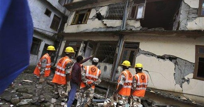 Soldiers reach last of India's quake-hit villages