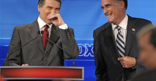 "Perry says he has a ""great rapport"" with Bush"