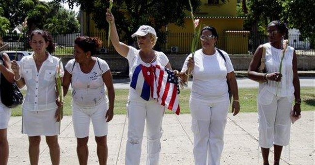 Cuban dissidents blocked from leaving home