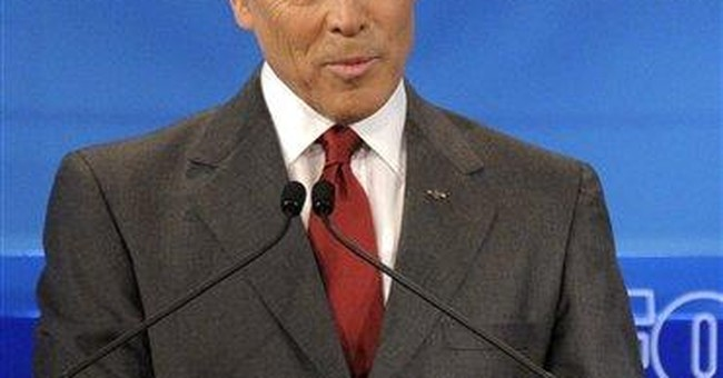 Romney, Bachmann challenge Perry on immigration