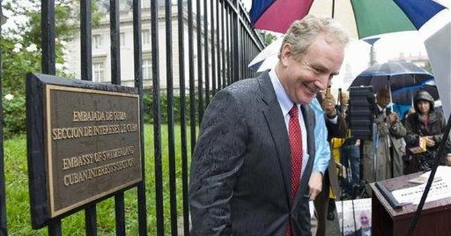 US vigil urges release of American held in Cuba
