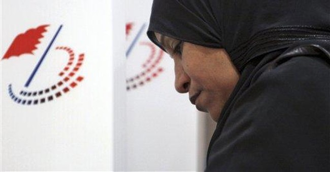 Supporters of Bahrain rulers rebuff vote boycott