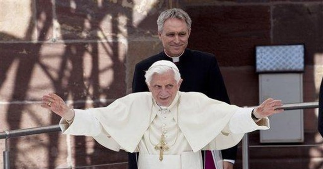 Pope defends traditional values