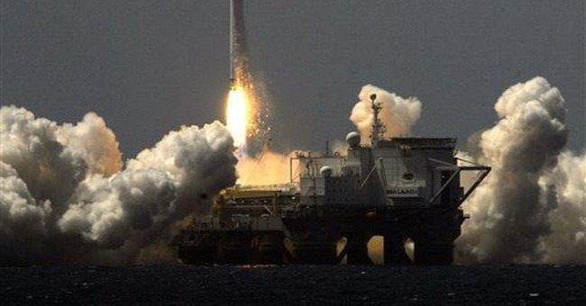 1st liftoff for Sea Launch since reorganization