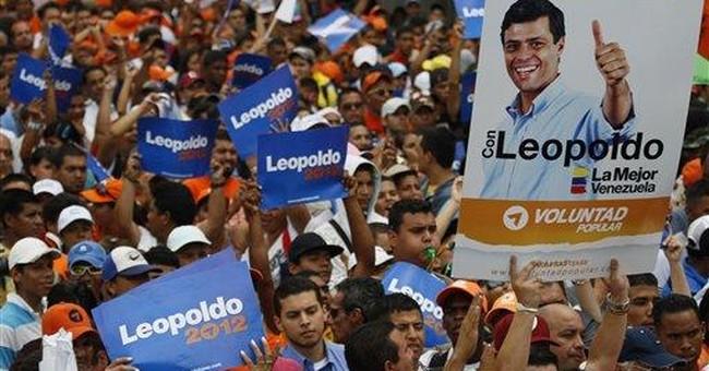 Chavez foe launches presidential bid in Venezuela