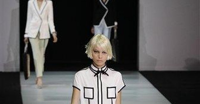 Armani loves a ladylike style for summer 2012