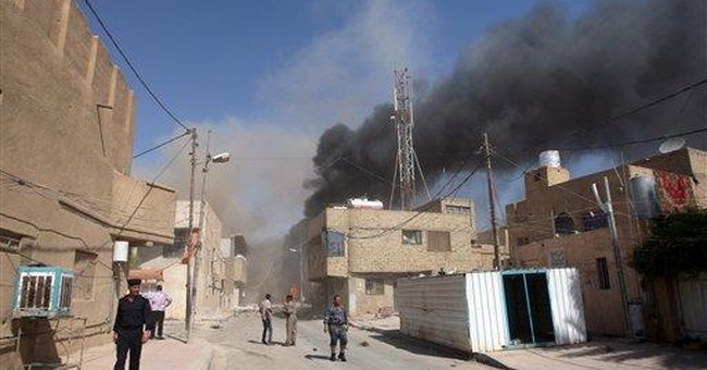 Explosions kill 10 people in holy city in Iraq