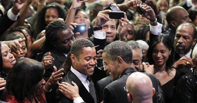 Obama tells blacks to 'stop complainin' and fight