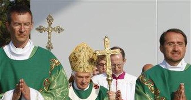 Pope in Germany urges spiritual renewal