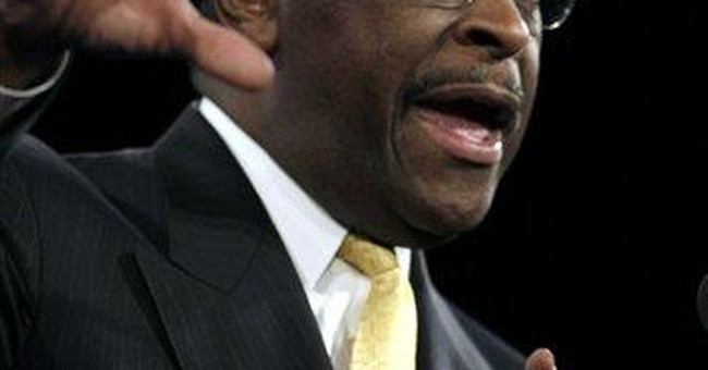 GOP's Cain says win in Fla. straw poll not a fluke