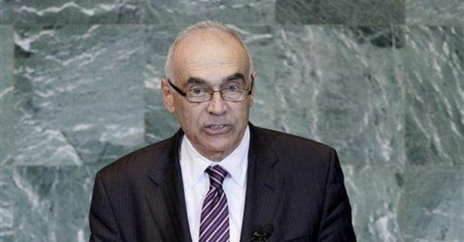 AP Interview: Egypt backs treaty with Israel