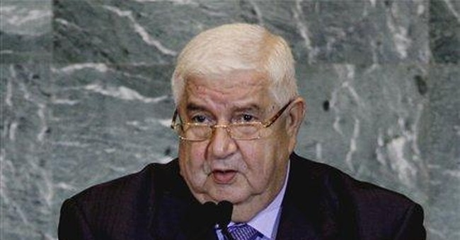 Syrian minister blames west for crackdown