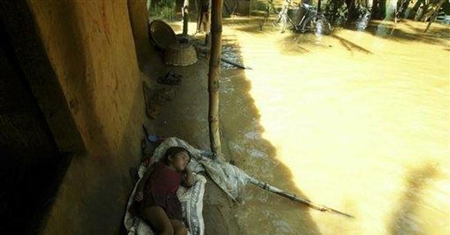 Rains, flooding kill dozens, maroon many in India