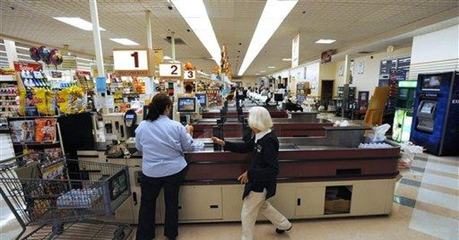 Supermarkets start bagging self-serve checkouts