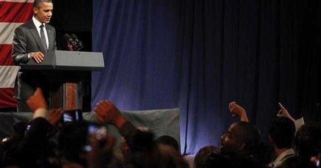 Heckler interrupts Obama fundraiser