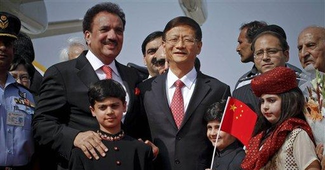 Top Chinese security official visits Pakistan