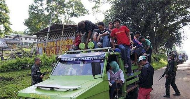 Philippine troops hunt gunmen after deadly clash
