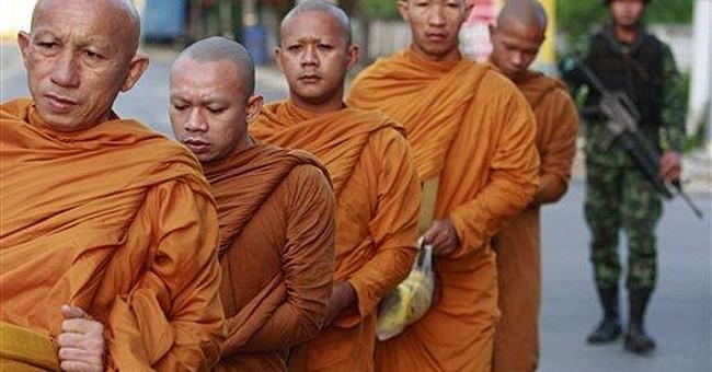 Insurgents kill 4 soldiers guarding Thai school