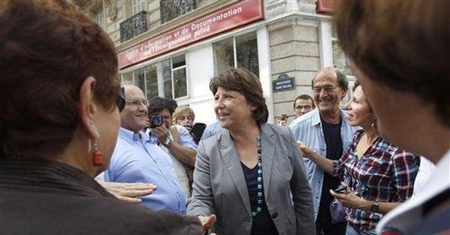 French teachers strike over job cuts under Sarkozy