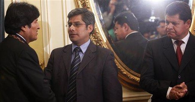 Top Bolivian official quits in march backlash