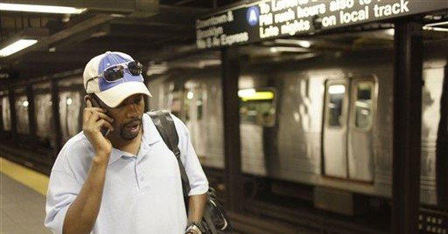 Cell service arrives in NYC holdout _ the subway