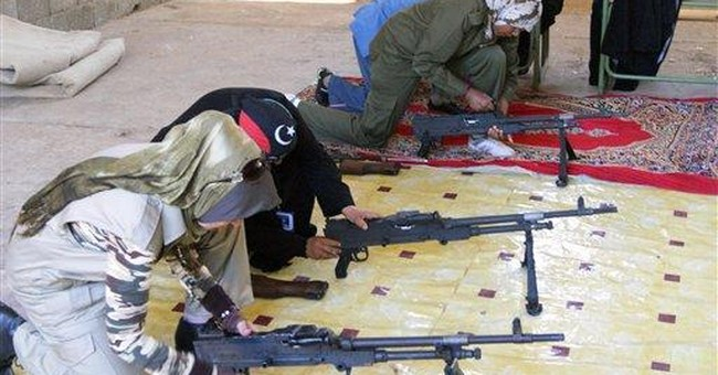 Libyan women train for military, hope for equality