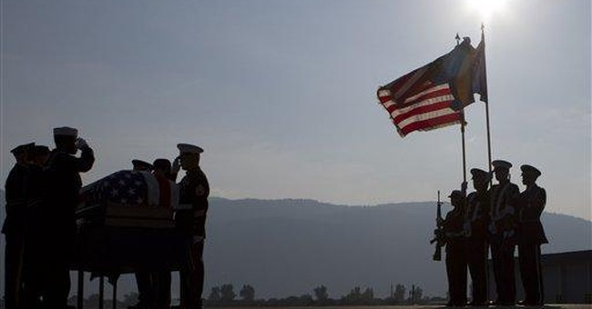 WWII remains of American repatriated from Bosnia