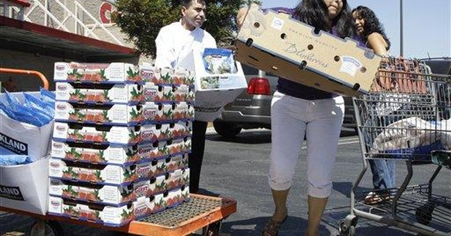 Report: Consumers spent less, earned less in 2010