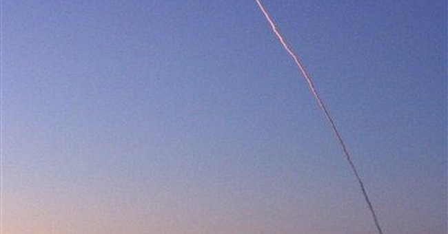 Rocket launches from Alaska with Navy satellite