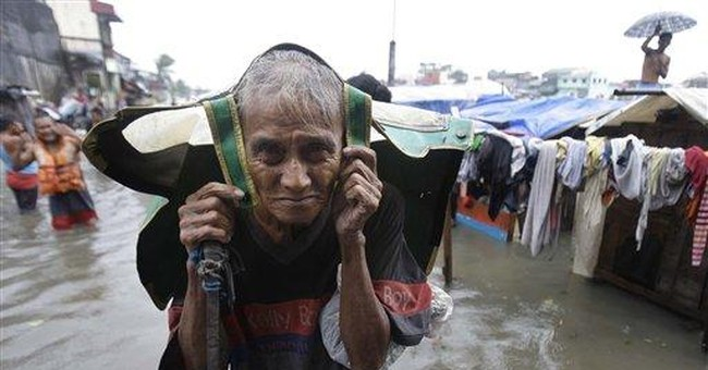 Philippine capital cleans up after storm kills 20