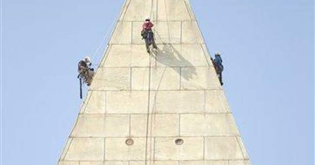 Engineer: Monument rappel inspection a career high