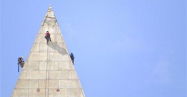 Daredevil Washington Monument inspection starts