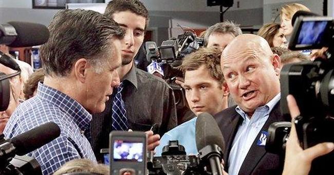 Romney brushes off flip-flopper criticism