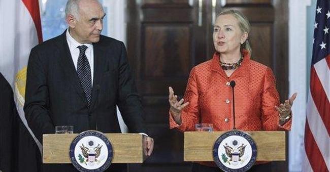 US presses wary ally Egypt on Israel, democracy